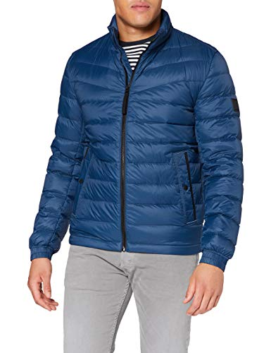 BOSS Mens Olido Jacket, Navy (414), 56