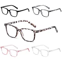 5-Pack Novivon Blue Light Blocking Reading Glasses