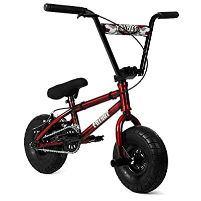 New 2021 Fatboy Pro X Fire Power Mini BMX Bike (Red/Black)
