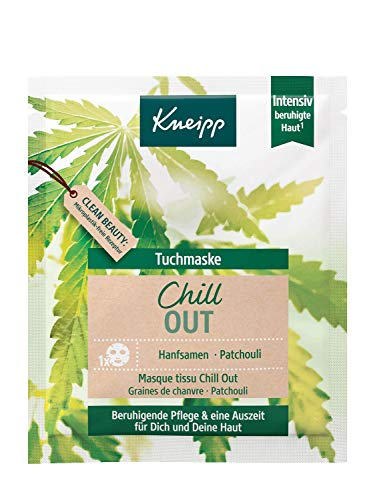 Kneipp Chill Out, doek masker, 18 ml