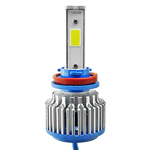 Kit de phares à LED, voiture COB double face 9005 / HB3 / H10, pour moto ATV UTV, 1PCS