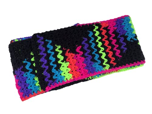 New Crocheted Iridescent Direct store Multi Children's Sales of SALE items from new works Colored Scarf
