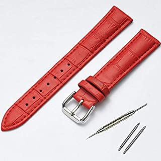 JINN - Watchbands - Fashion Charm Colorful Women Watches Band Genuine Leather Kids Watch Strap Red White Pink 10 12 14 15 ...