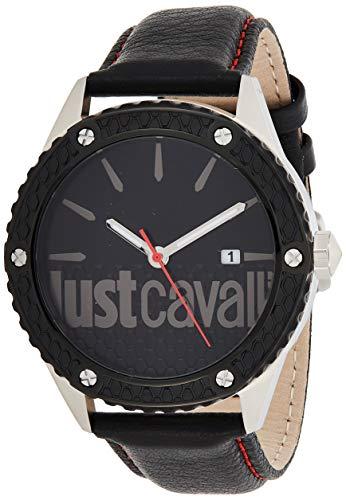 Reloj JUST CAVALLI Reloj Analógico-Digital para Adultos Unisex de Cuarzo con Correa en Aleación 1