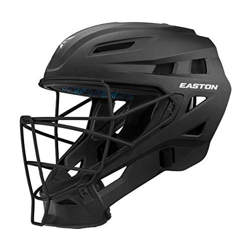 EASTON ELITE X Catcher's Helmet, Small, Matte Black