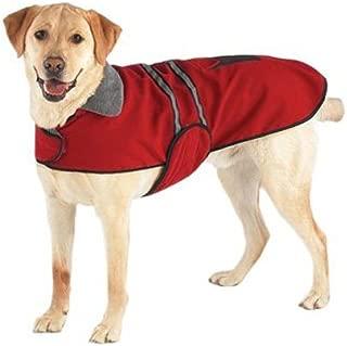 OCSOSO O&C Pet Dog Reflective Vest Dog Warm Coat Jacket 3colors 5 Sizes.