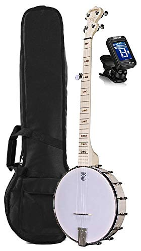 Deering Goodtime 5-String Openback Banjo with Padded Bag and Tuner