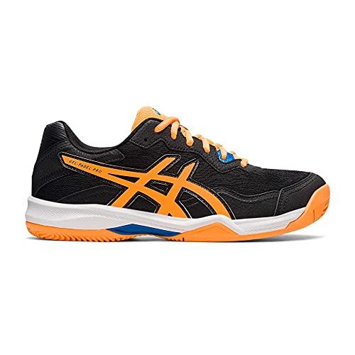 ASICS Gel-Padel Pro 4, Zapatillas de Running Hombre, Black Orange Pop, 43.5 EU