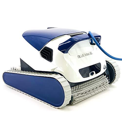 Dolphin BLUE Maxi 35 - Robot automático limpiafondos para piscinas (fondo y paredes) sistema de navegación preciso Clever...