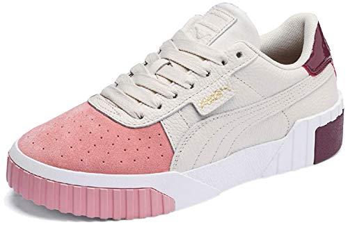 Puma Cali Remix, Zapatillas Deportivas para Mujer, Rosa (Pastel Parchment-Bridal Rose 01), 37 EU