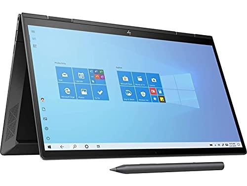 HP Envy x360 Convertible Touchscreen 13.3-inch FHD Laptop (3rd Gen Ryzen 7 4700U/16GB/512GB SSD/Win 10/MS Office/Night Fall Black/1.32kg), 13-ay0046AU