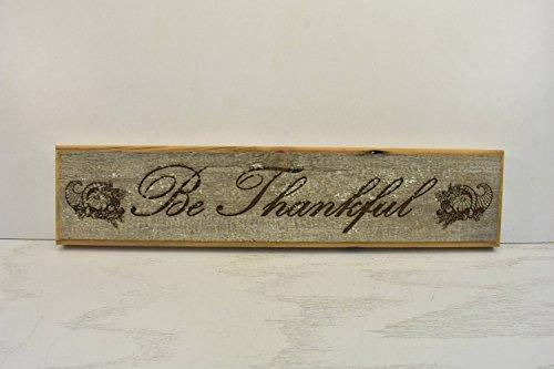 Norma Lily Wees dankbaar Plaque hout teken deur Topper