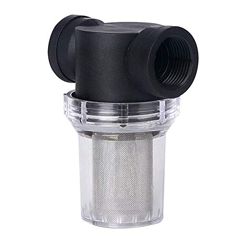 Garten Teich Wasser Rohr Pumpe Filter Universal Inline Netz Filter Wasserpumpe Bewässerung Hoch Durchfluss Pipeline Filter 12.1 X 5.2 cm - Wie Bild Show, 40#