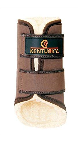Kentucky Gamaschen Solimbra hinten, Full | Braun
