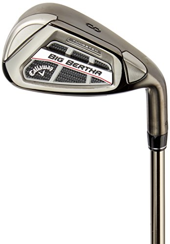 Callaway Big Bertha Os Golfschläger-Set für Herren, Herren, 4919506461376, grau, 5-PW