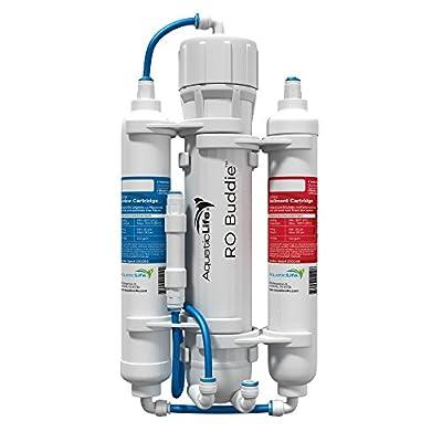 Aquatic Life RO Buddie Three Stage Reverse Osmosis, 50-Gallon