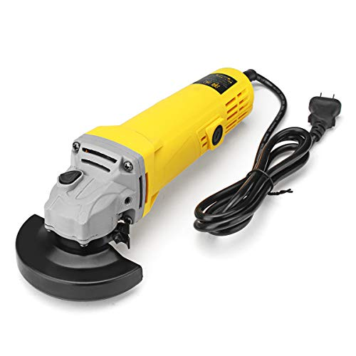 Drona Delux 850W Professional Angle Grinder machine 100mm for grinding/cutting/polishing metal,wall,wood and tiles Multicolour