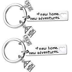 If you're congratulating someone on their new home, whether they just bought one or moved into a rented home, sending a sweet Congratulations keychain that anyone who just moved in will certainly appreciate! Whether you're helping to set your favorit...