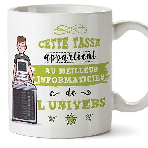Le mug Meilleur informaticien de l'univers