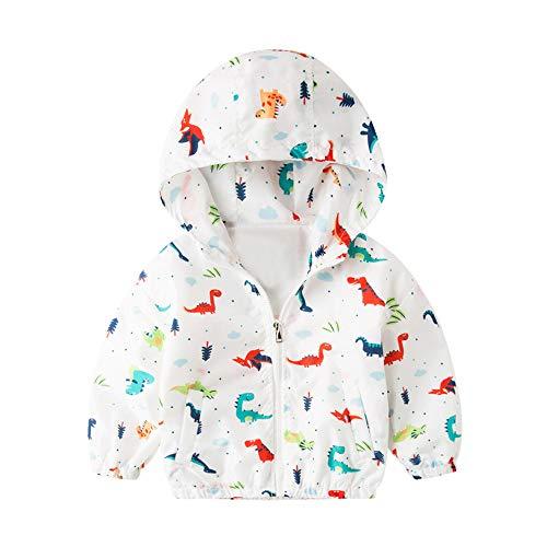 Hui.Hui Dinosaure Imprimé à Capuche à Capuche pour Garçons et Filles,Hiver Pas Cher Ensemble Cardigan Pull Pullover Vêtements Manteau Noël Cadeau pour Enfants