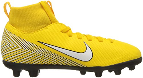 Nike Neymar Jr. Superfly 6 Club Mg, Unisex Kid's Footbal Shoes, Multicolour (Amarillo/White-Black-Black 710), 4.5 UK (37.5 EU)
