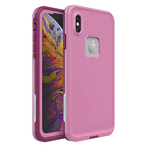 Lifeproof FRĒ SERIES Waterproof Case for iPhone Xs Max - Retail Packaging - FROST BITE (ORCHID/PURPLE WINE/FAIR AQUA)