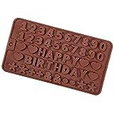 Clyhon- Stampo in silicone per cioccolatini, caramelle, torte, gelatina, budino, sapone artigianale e pasticceria