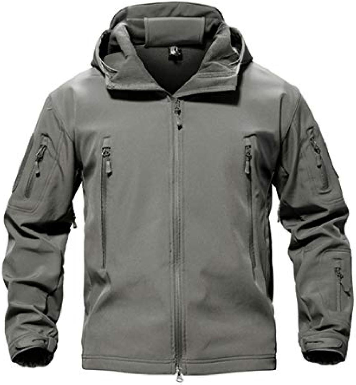 Outdoor Softshell Jacket Waterproof Hiking Camping Jacket Military Tactical Hunting Jackets Winter Windproof Jacket