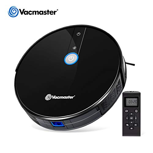 Vacmaster Robot Vacuum Cleaner 1800Pa Suction 2.9' Slim...