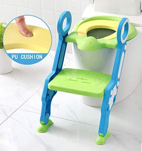 MASODHDFX Baby Toilet Seat Baby Vouwen Verstelbare Ladder Potty Training Stoel Stap Kid Veiligheid Toilet Trainer Seat Pot Voor Kinderen