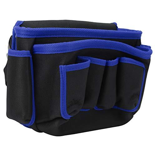 Funda para teléfono celular, fácil de quitar y almacenar Diseño de múltiples bolsillos Bolsa de herramientas multifuncional, fácil de abrir y cerrar Hombre Viaje(Blue edge)