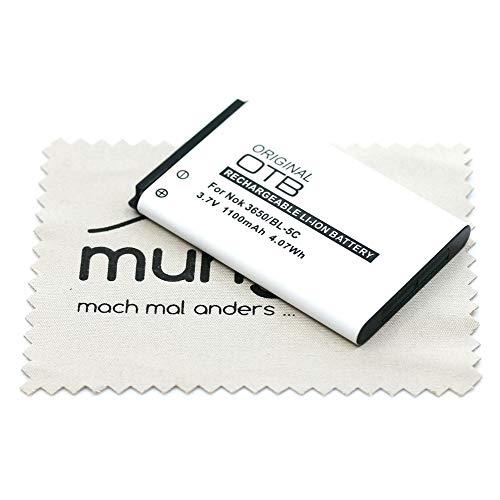 Batería de Repuesto para Mitel 5610 con paño de Limpieza mungoo