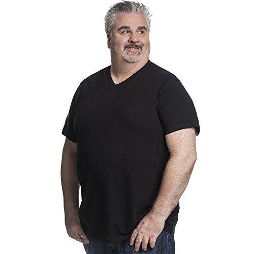 Alca Fashion Camiseta 5XL clásica Cuello en V para Hombre, T-Shirt Tallas Extra Grande XL-B - 8XL-B | Alca Classic Tshirt V-Neck tee V-Neck