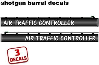 Shotgun Barrel Decal Sticker AIR Traffic Controller Waterfowl Hunting .75