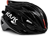 Kask Mojito X - Casco de Carretera Unisex, Unisex Adulto, Color Black/Ash/Red, tamaño Medium