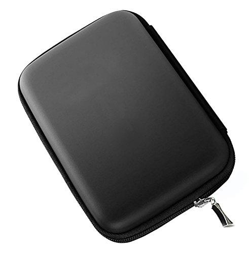 "Hosaire Funda para Disco Duro Externo 2.5"" para WD Western Digital My Passport Ultra Elements/Toshiba Canvio Basics/Seagate Backup Plus Slim portátil 1TB 2TB USB 3.0 (Negro)"