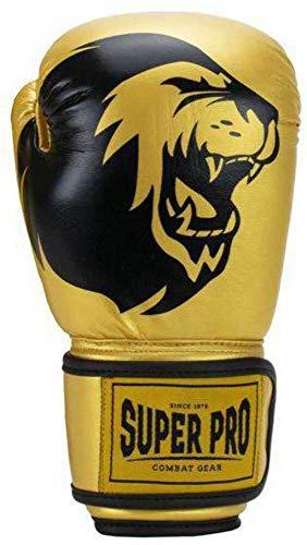 Super Pro Combat Gear Talent Boxhandschuhe junior Gold mt 8oz