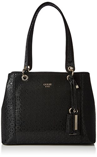 GUESS Kamryn G-Shine Shopper Bla, Black , One Size