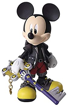 Square Enix Kingdom Hearts III  King Mickey Bring Arts Action Figure Multicolor  Model  MAR198633