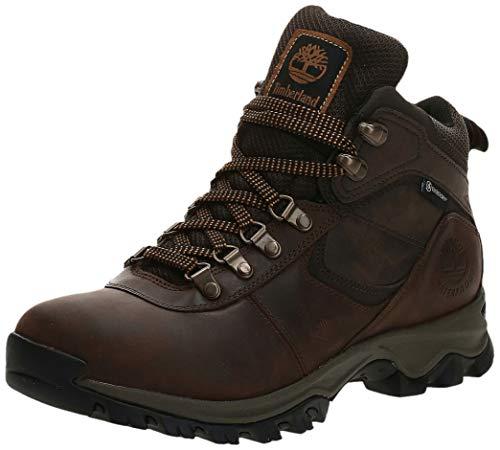 Timberland Men's Anti-Fatigue Hiking Waterproof Leather Mt. Maddsen Ankle Boot, Dark Brown, 7