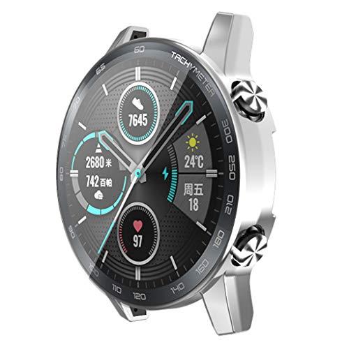 angwang Capa protetora de tela de TPU galvanizada para relógio Honor Magic 2 46 mm Smartwatch Acessórios