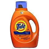 Tide Detergente líquido para lavandería, original, 64 cargas 92 onzas líquidas