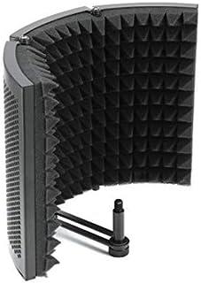 Konesky Microphone Isolation Shield، Studio Mic Sound Absorbing Foam Reflectort 3 پخش کننده عایق صفحه ای تاشو / کاهش دهنده صدا / جذب کننده / مانع برای ضبط میکروفون صوتی