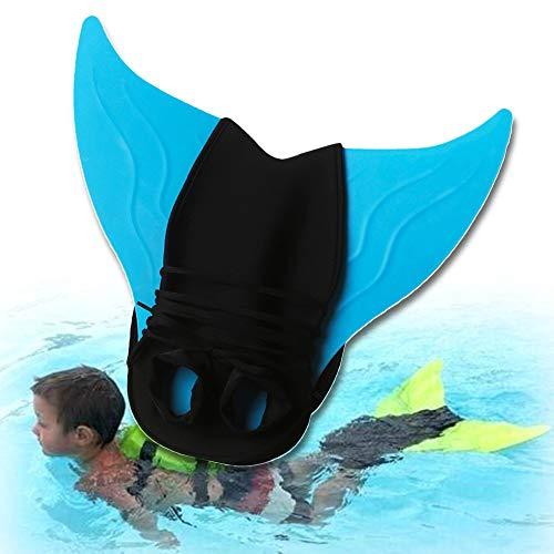Diafrican Schnorchelflossen, Aquazon Flossen, Schwimmflossen, Tauchflossen Flipper Für Kinder Junge/Mädchen - Blau
