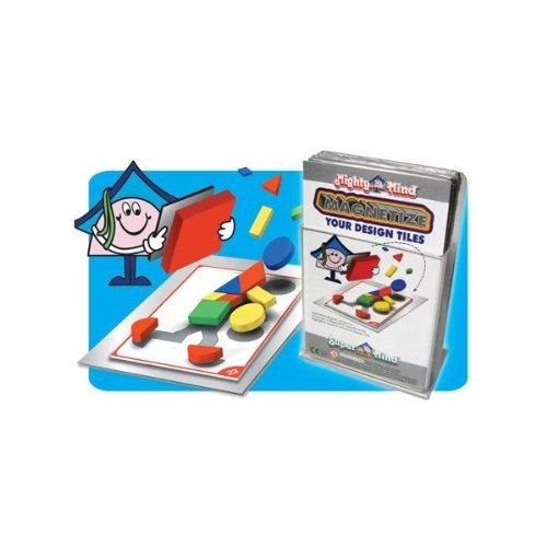 Mighty Mind Design Tile Magnet Set Peel & Stick - 32 pc