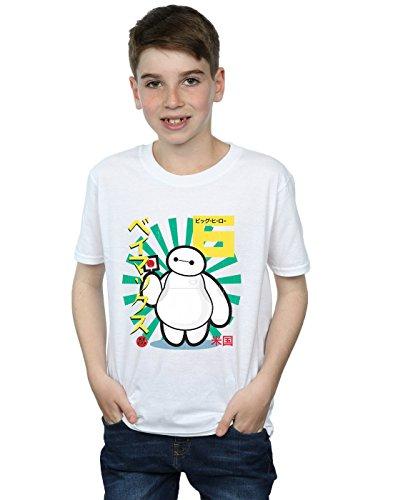 Disney Niños Big Hero 6 Baymax Lollypop Camiseta