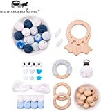 Mamimami Home DIY Bebé Juguetes de dentición Silicona Collar de enfermería...