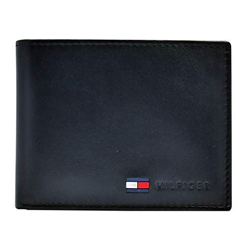 Tommy Hilfiger Honey Large Zip Around Portefeuille Corporate Bleu Blanc Nouveau
