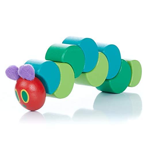 Unbekannt Raupe Nimmersatt hc55163Holz Caterpillar greifen und Twist Spielzeug