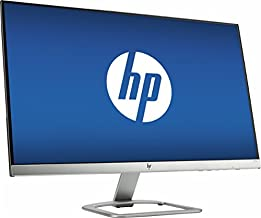 """HP 27"""" Widescreen IPS LED Flat-panel HD Monitor, 1920x1080 at 60Hz, 7ms response time, 178 degrees horizontal and vertical..."""